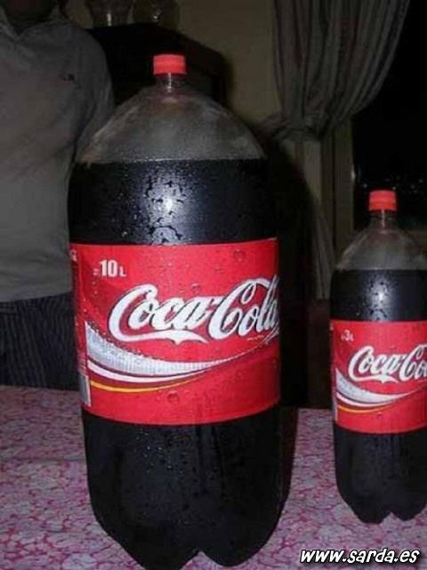 Cocacola 10 litros
