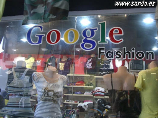 Originalidad! Google Fashion