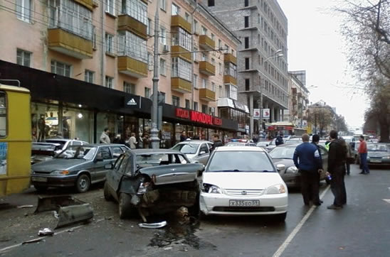 accidentes multiples coches