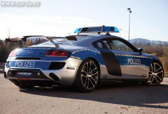 cochazo de policia