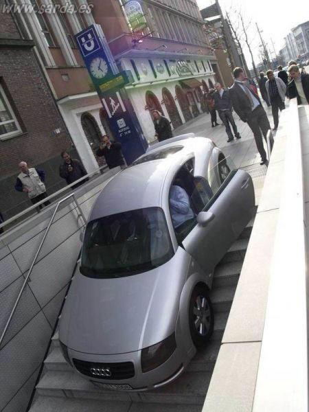 Entrada pero no para coches