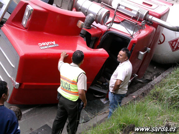 accidentes camiones gigantes