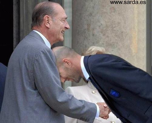 La felicitación a Zidane :-)
