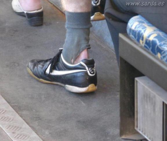 calcetines casi nuevos
