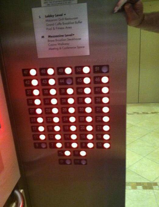 el gracioso del ascensor