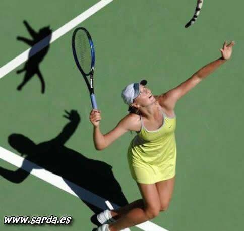 NOOO! Fotos de humor tenistas