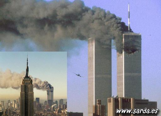 imagenes impacto 11 septiembre