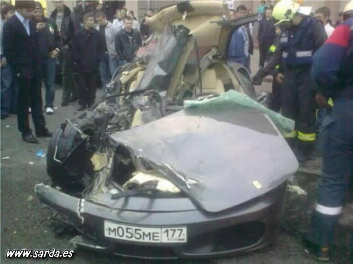accidentes de Ferraris