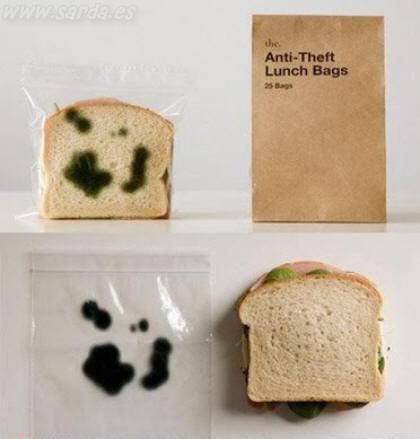 Anti robo comida