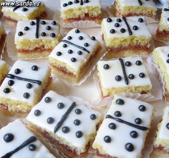 domino pastel original tarta