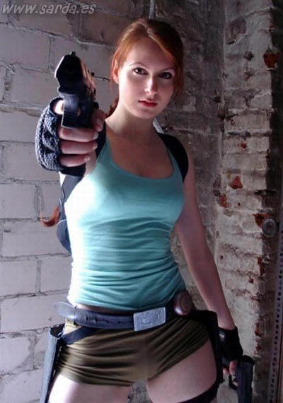 chicas tomb raider