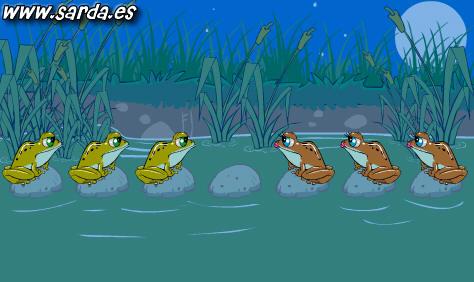 Juegos flash: ranas