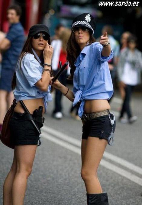 Las mujeres polis mas sexys