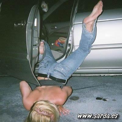 mujeres muy borrachas tiradas